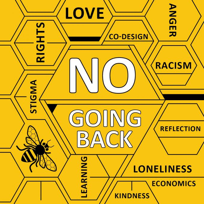 No Going Back logo